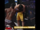 Rakim Cleveland defeats Rashid Yusupov by TKO in Round 3