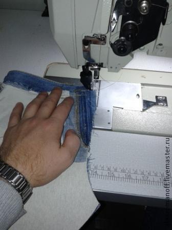Как сделать обувь из джинс. Мастер-класс...