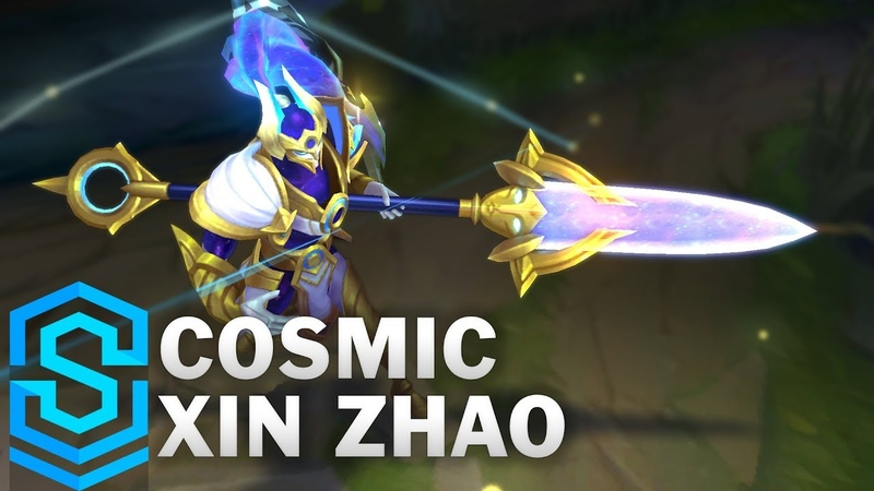 Cosmic Defender Xin Zhao Skin Spotlight Pre Release League of Legends