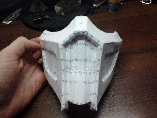 Как сделать маску скорпиона из бумаги своими руками 93