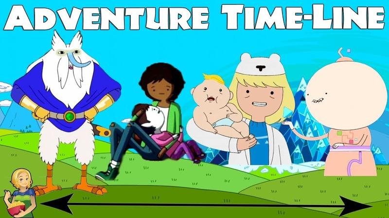 Adventure Time Line / Timeline | Cartoon Network Theory