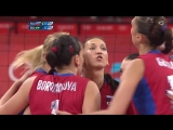 SOKOLOVA Brazil vs Russian Fed Womens Volleyball Quarterfinal London 2012