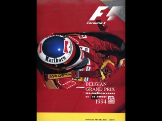 F1 1994. 11. гран-при бельгии, гонка