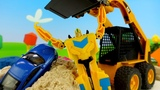 Мультики для детей. Новая серия песочница. Машинки в песке
