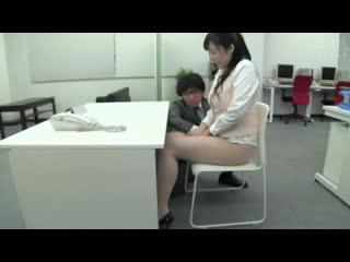 Wakatsuki miina [, японское порно, new japan porno, creampie, cumshot, cunnilingus, office lady, tit fuck]