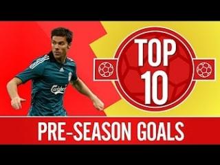 Liverpool's Top 10 Pre-Season Goals