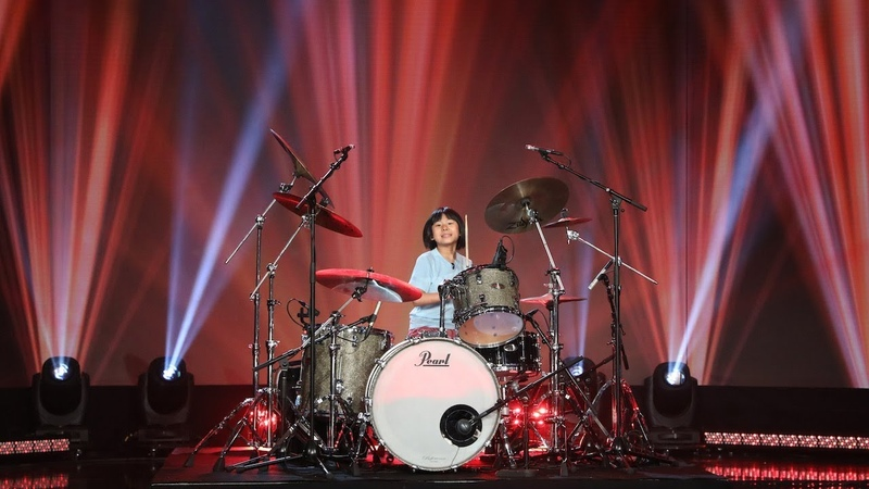 Kid Drummer Yoyoka Soma Gets a Present She'll Never Forget