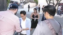 Max Minghella signs for fans at The Handsmaid's Tale Hulu Finale Panel at The Wilshire Ebell Theatre