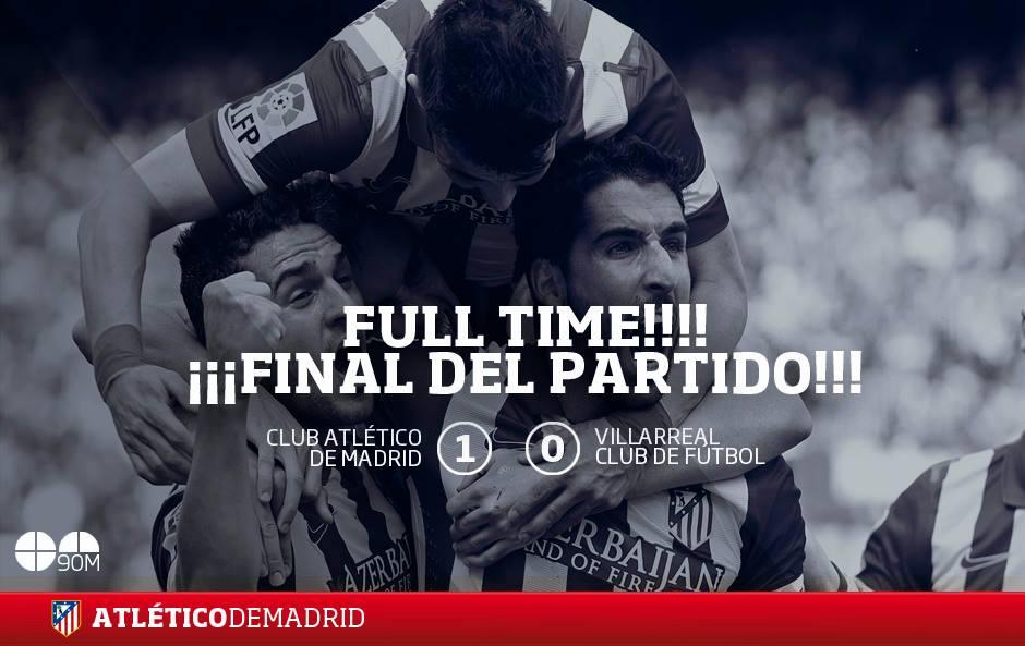 Минимальная победа Атлетико над Вильярреалом