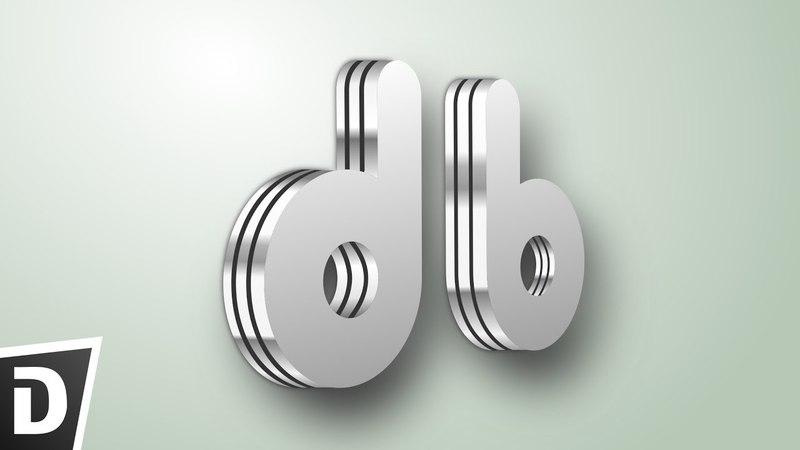 Metal Text Logo Inkscape Tutorial