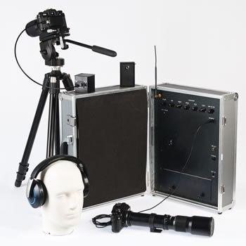 лазерный микрофон способен