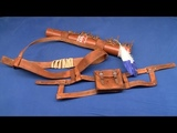 Connor costume (AC3) weapon belts, quiver &amp pouch tutorial