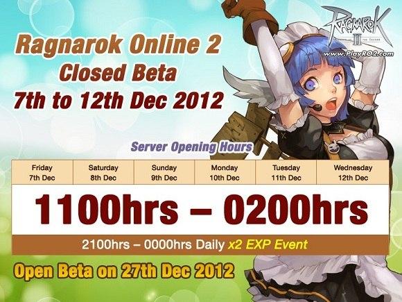 ЗБТ Европейской версии игры Ragnarok Online 2