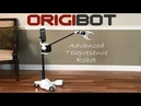 ORIGIBOT Carbon Fiber Advanced Telepresence Robot with Arm Gripper
