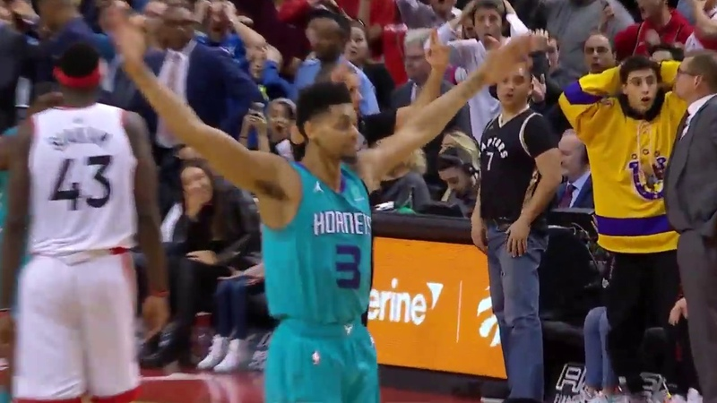 Jeremy Lamb From DEEP For The INCREDIBLE Buzzer Beater! | March 24, 2019
