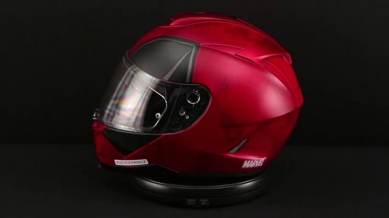 HJC Deadpool IS-17 Helmet 360° View