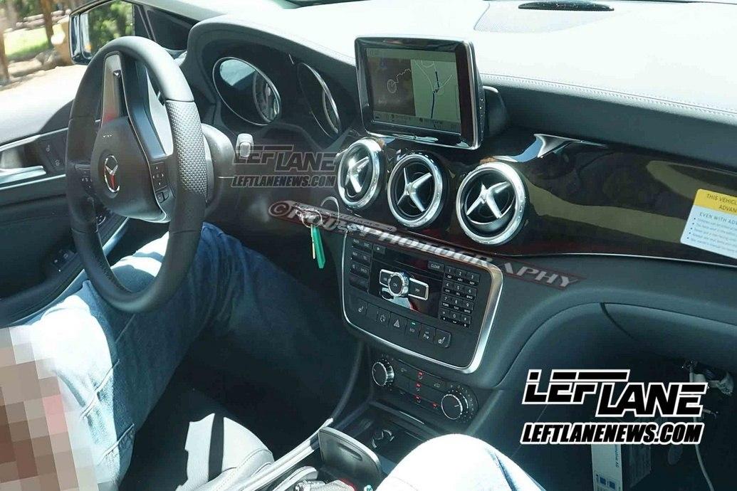 Салон Mercedes GLA