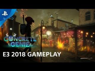 Concrete genie e3 2018 gameplay demo _ playstation live from e3