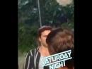 Себастиан на съёмках фильма Понедельник , 21.09.2018