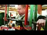Влад Алхазов приседает 490 кг на 2