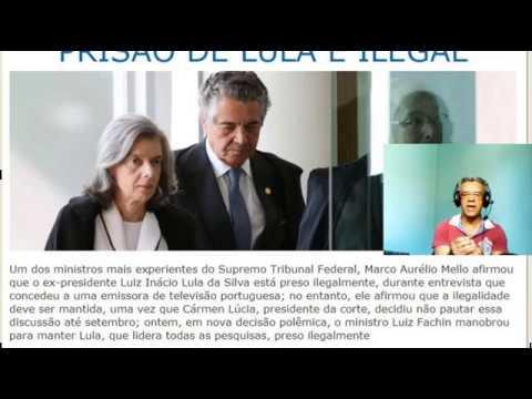 Ministro do STF escancara prisão ilegal de Lula, após decisão de Fachin!