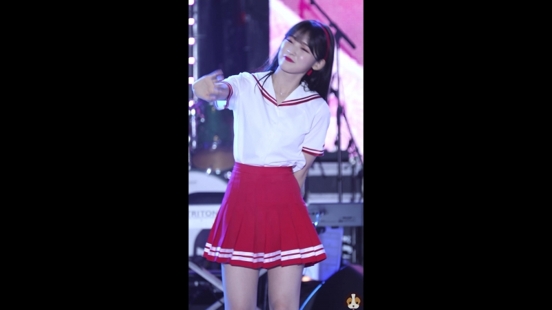 · Fancam · 180904 · OH MY GIRL (Arin focus) - Je T'aime · 42nd Yeonggwang County's Day - MBC Gayo Best ·