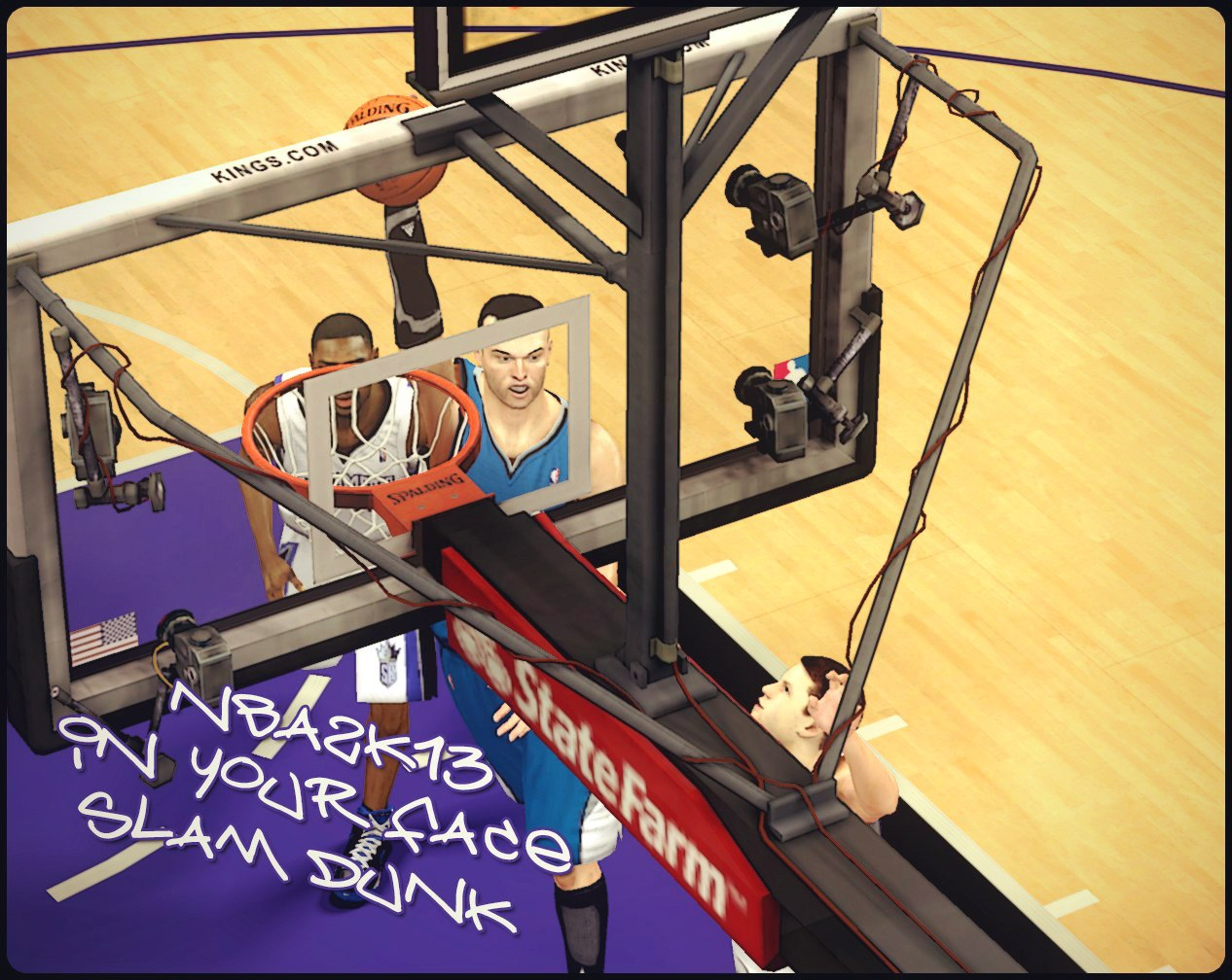 NBA2K13 In Your Face Slam Dunk
