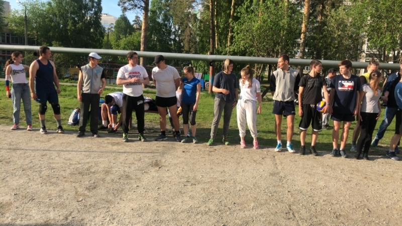 Открытие Чемпионата по волейболу Дворовой Лиги Верхней Пышмы и Среднеуральска