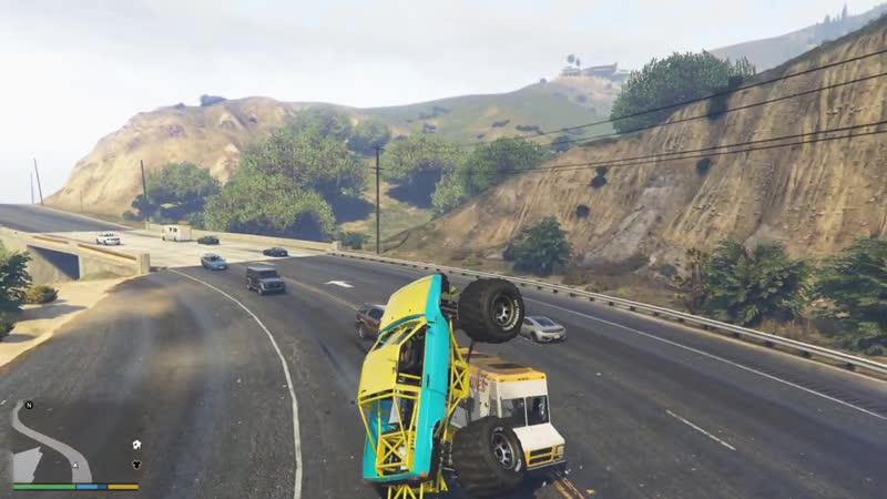 [Draken] ВАЗ 2108, но немного БИГФУТ ПРОТИВ Пробок на дорогах! Трэш МОДЫ GTA 5