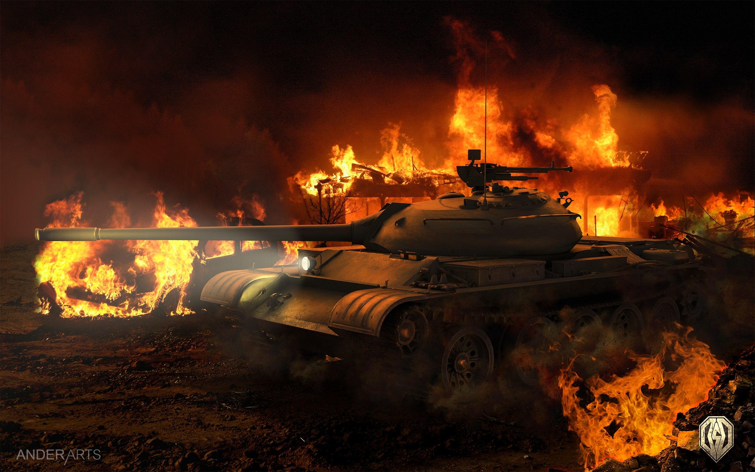 рисунок World Of Tanks Т-54