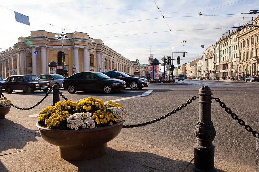 Санкт-Петербург экскурсия Невский проспект Гостиный двор