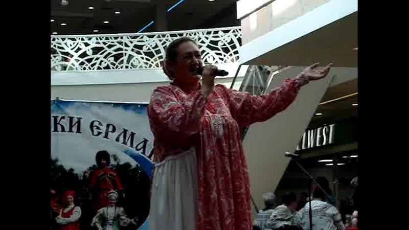 Солистка казачьего ансамбля г. Ноябрьск