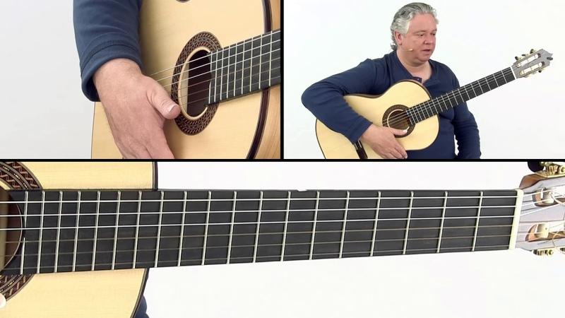 Flamenco Guitar Lesson - Technique and Posture - John Fillmore