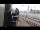 Parowóz Ty42 24 z pociągiem 'Grubek' na trasie Wrocław Nadodrze Wrocław Główny