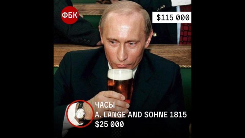 путин коррупционер / быстрое расследование