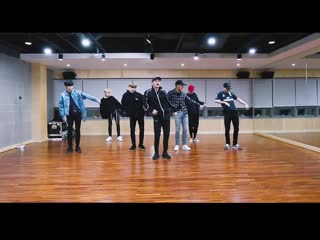 MONSTA X (몬스타엑스) - Alligator Dance Practice [Mirrored]