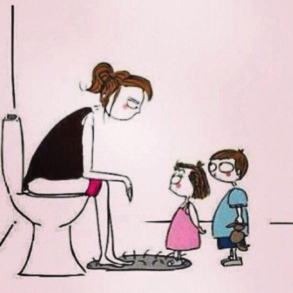 к чему снится что мать ходит в туалет противоугонной