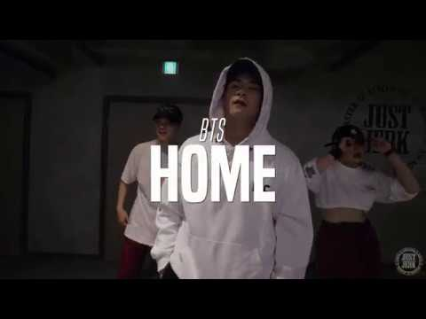 BTS - HOME   J-HO Choreo Class l JUSTJERK