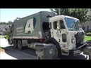 Advanced Disposal- Peterbilt 520 McNeilus Standard Rear Load Trash Truck