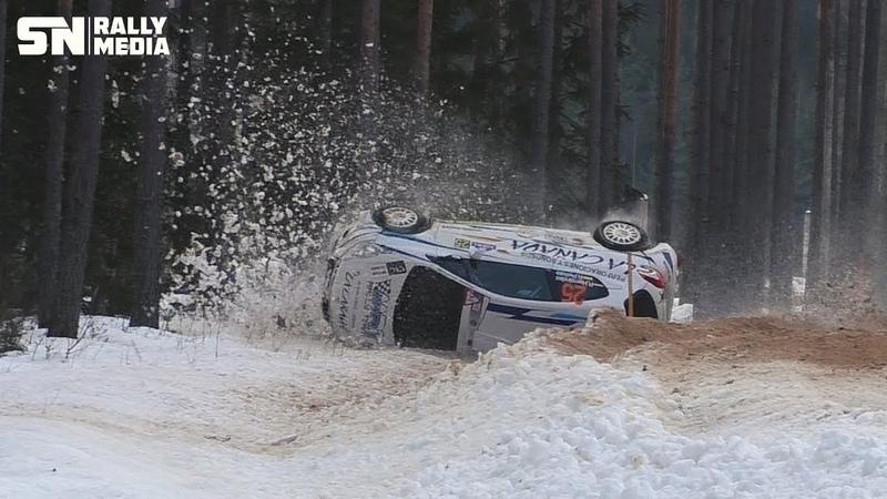 Rally Sarma 2019 Action and Crash