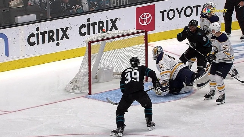 Logan Couture nets third NHL hat trick to lead Sharks to win