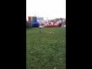 Сашенька запускает воздушного змея впервые