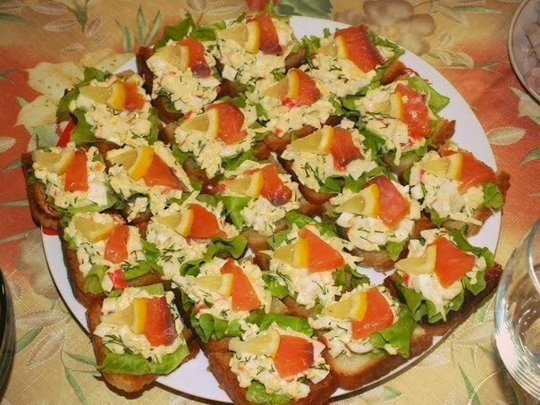 "Бутерброды ""Пикантные"""
