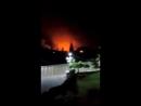 Syrien 08 05 2018 Israelischer Luftangriff auf iranische Ziele bei Kiswah M5 Highway Schwere Explosionen Daraa Damaskus