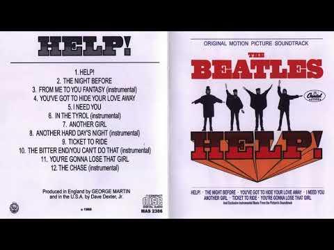 Help The Beatles Full Album 1965