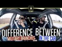 Difference Between Military Branches In The Car usarmy usmc marines usairforce usnavy