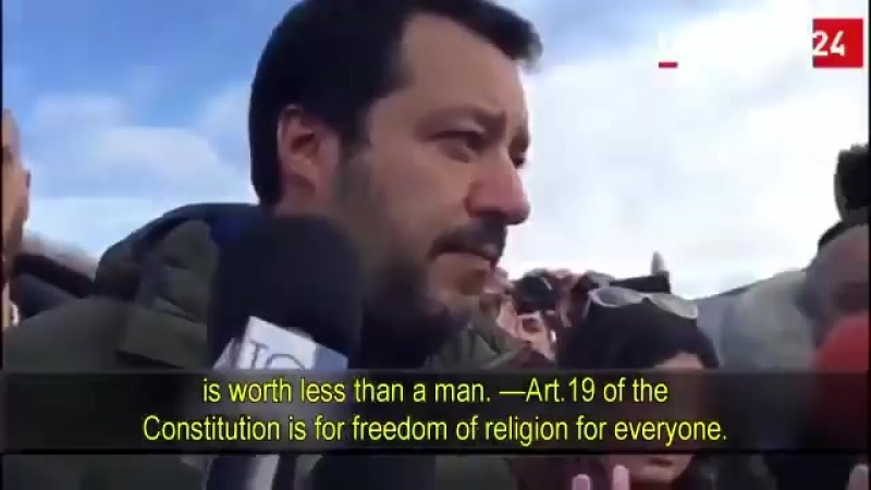 Tunisian imam has been expelled from Italy -Salvini sticks to campaign promises!