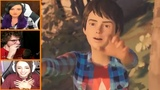 Let's Players Reaction To Getting Jumpscrared By Daniel Life Is Strange 2