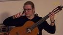 Роман Зорькин мастер класс по классической гитаре Трейлер