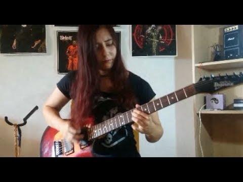 Megadeth - Tornado Of Souls Solo Cover | Juliana Wilson